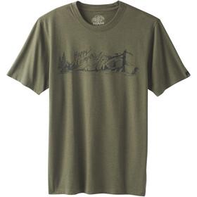 Prana Trail T-shirt Heren, cargo green
